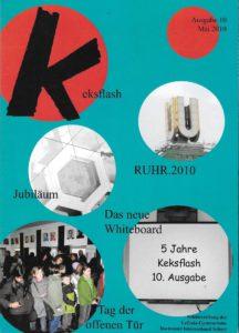 Titelseite der Keksflasch 2010