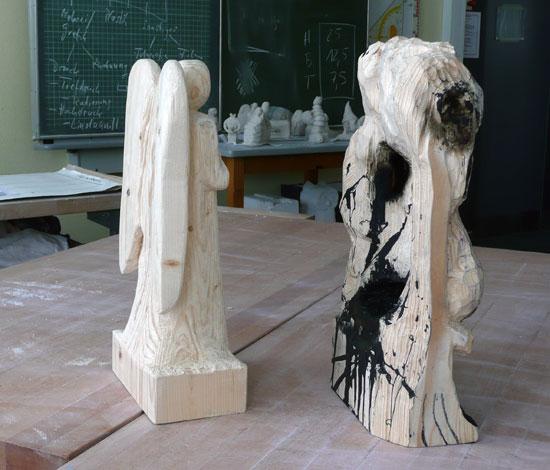 HolzSeitenansicht