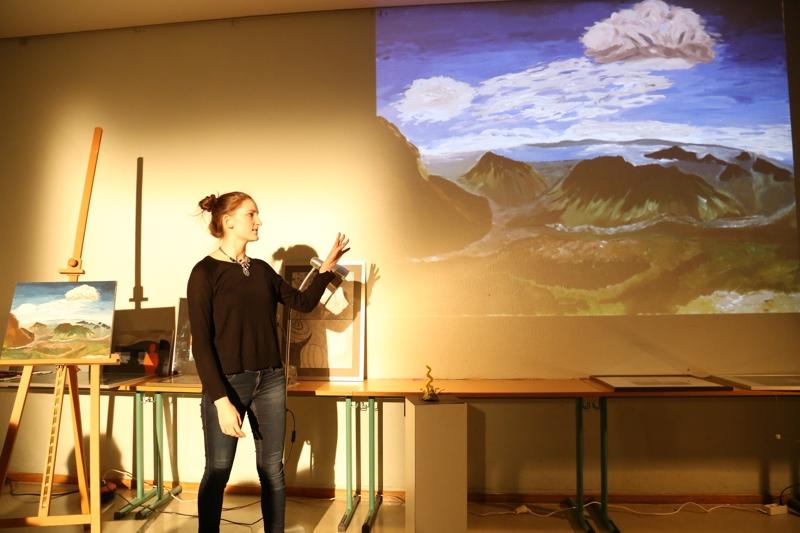 Wie weite Landschaften realisiert werden, zeigt Miriam