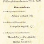 Erster Wettbewerb der Philosophen